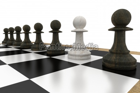 white pawn defecting to black side