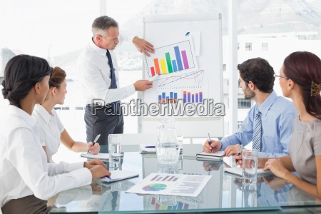 business, man, giving, a, presentation - 13749029