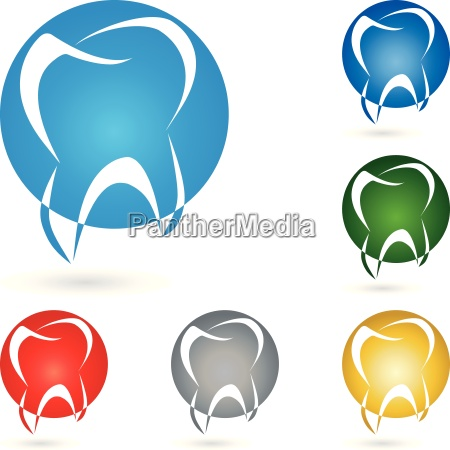 tooth logo sphere dentist
