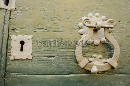 lock and knocker