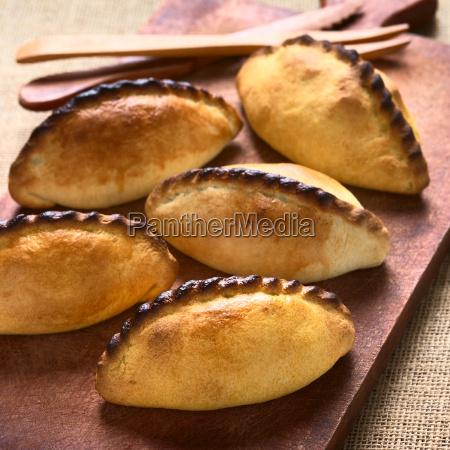 bolivian, saltena, savory, pastries - 13760849