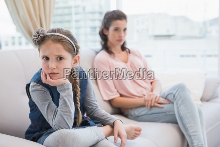 mother and daughter not talking after