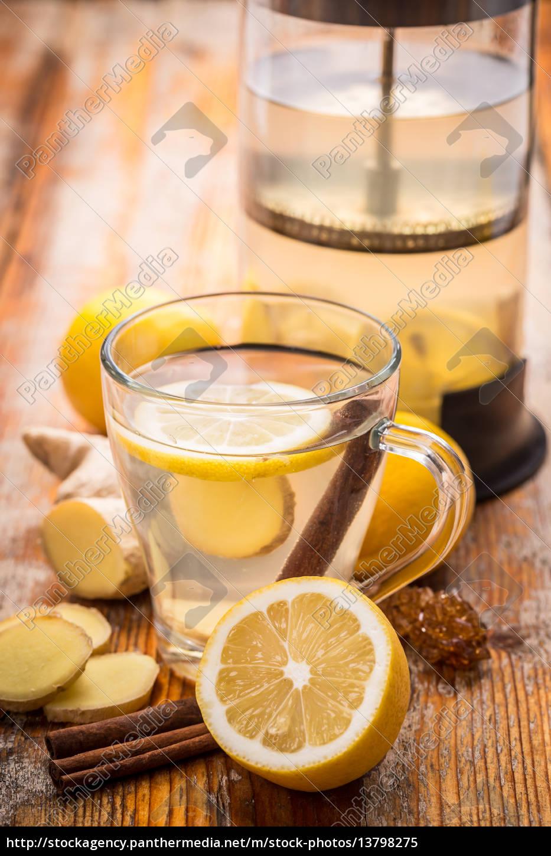 ginger, tea - 13798275