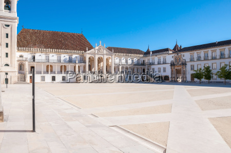 main square of coimbra university