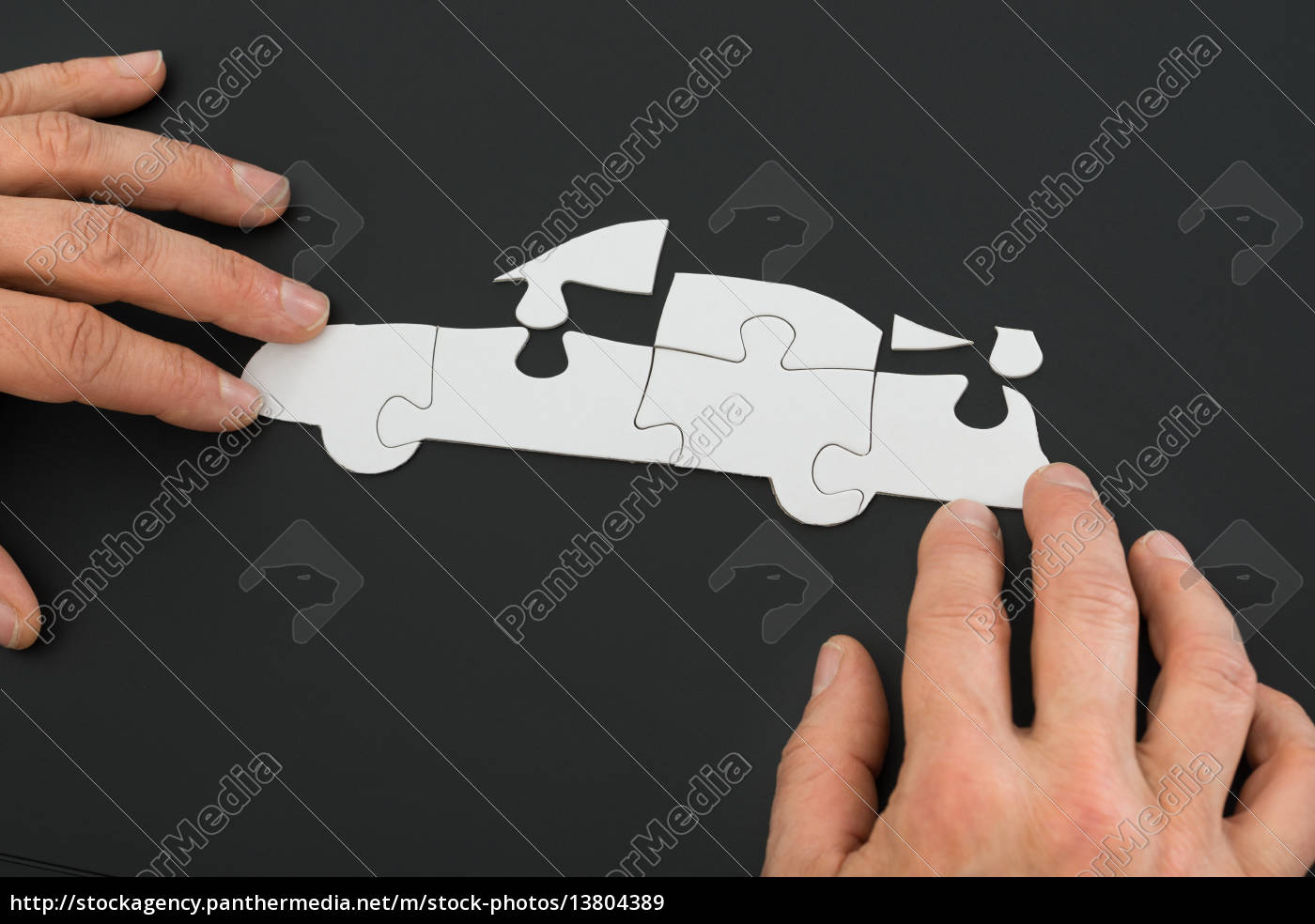 person, solving, car, jigsaw, puzzle - 13804389
