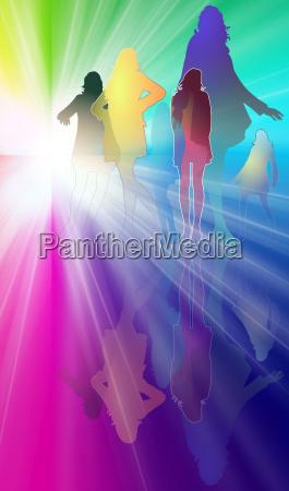 women fashion colors