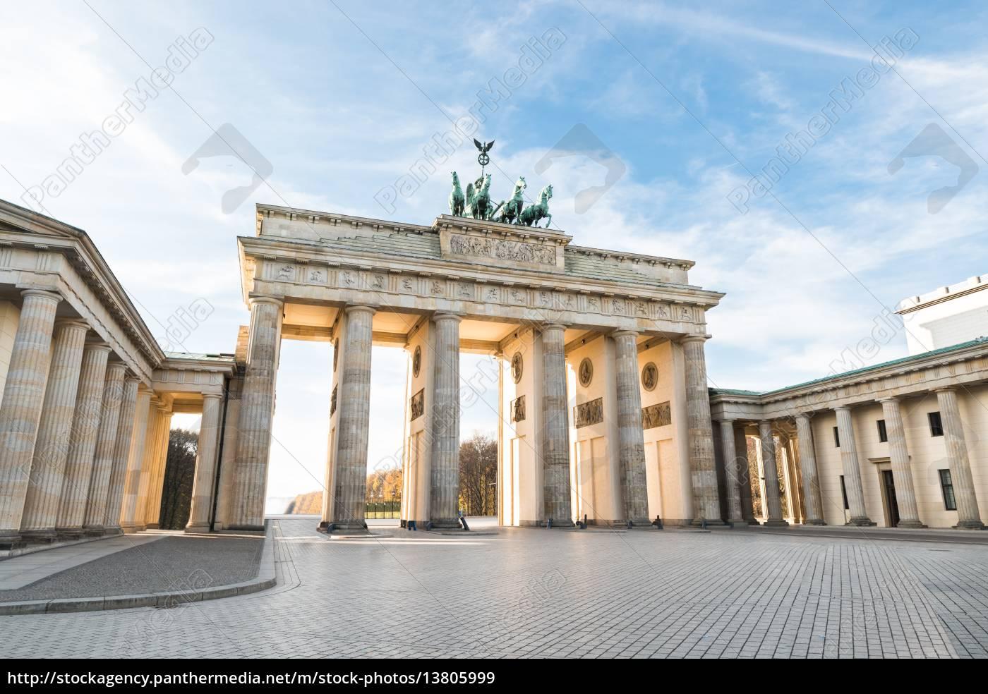 brandenburger, tor, in, berlin - 13805999