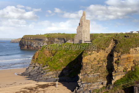 view of the ballybunion castle