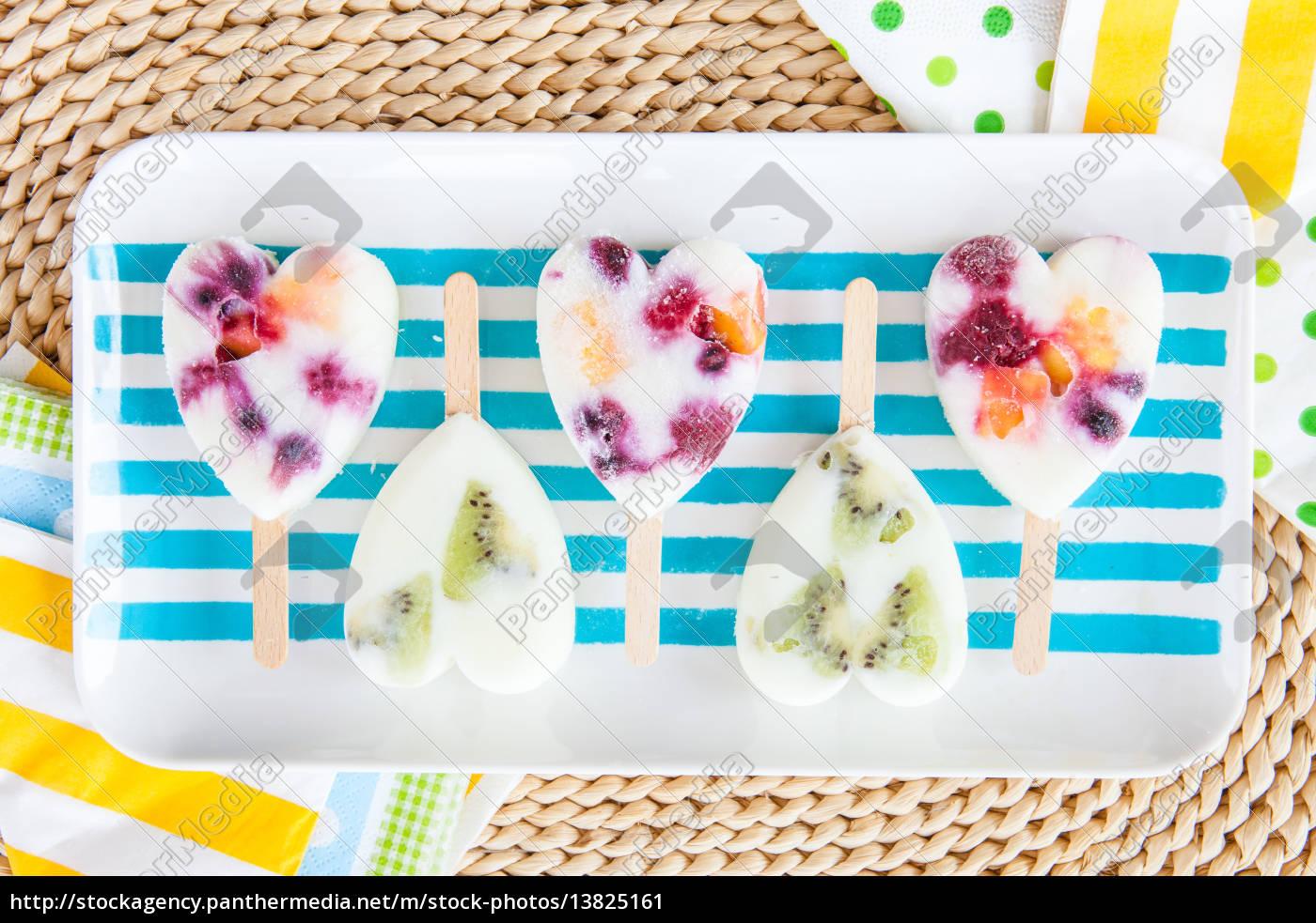 homemade, fruit, ice - 13825161