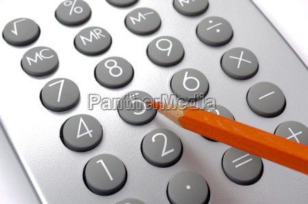 finance, and, costing, with, red, pencil - 13830785