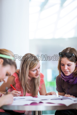 group of collegeuniversity students during a