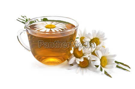 herbal teas with a bouquet of
