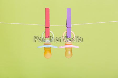 colorful baby pacifiers for boys and