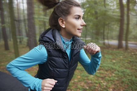 jogging on fresh air can help