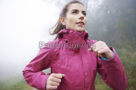 getting fit even in bad weather