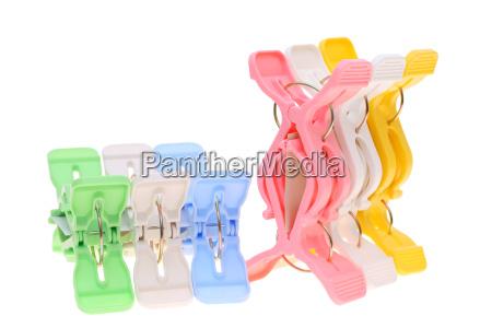 plastic clothespins