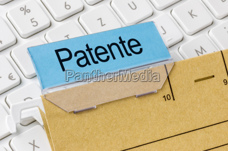 file with the label patents