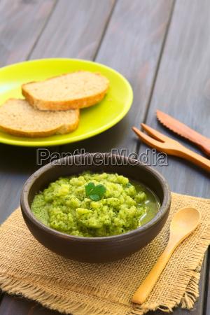 zucchini and parsley spread