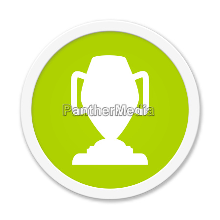 round green button with cup symbol