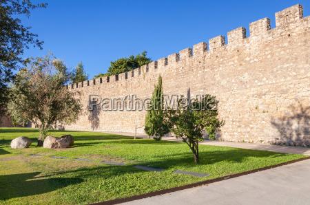 citta muro difesa fortificazione difensivo antico