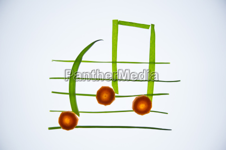 healthy music notes