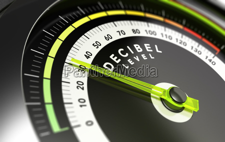 decibel level db