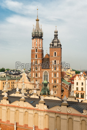 marys church in krakow