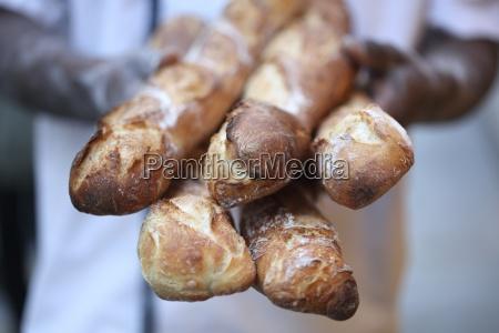 fresh baguettes
