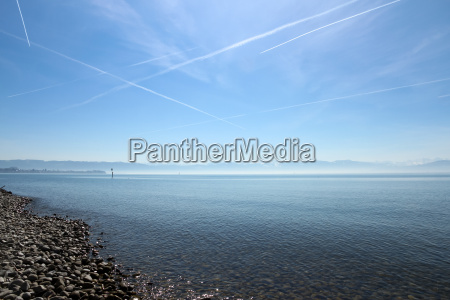 mountains, alps, beach, seaside, the beach, seashore - 13984779