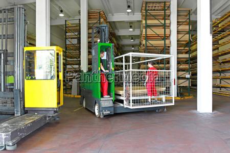 side loader forklifts