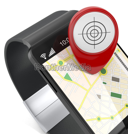 smartwatch and gps