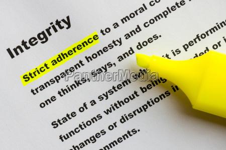 integrity - 13990827