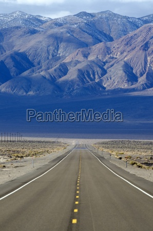 a road highway 95 stretches across