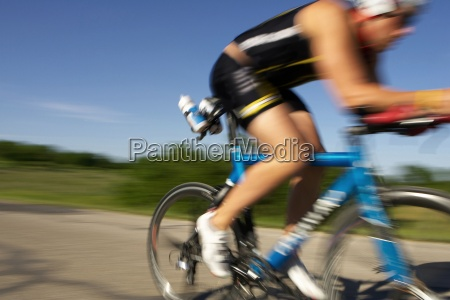 a male athelete training for a