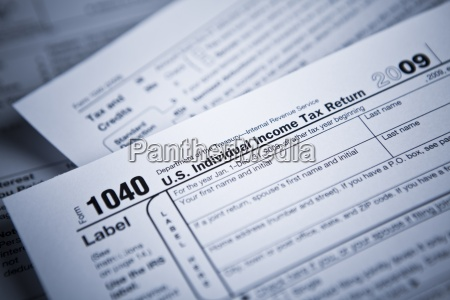income tax numbers at the accountants