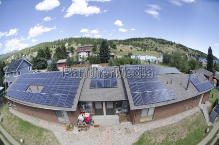 solar array on assisted living facility