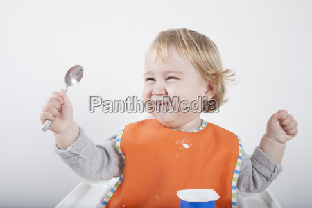 laughing spoon up