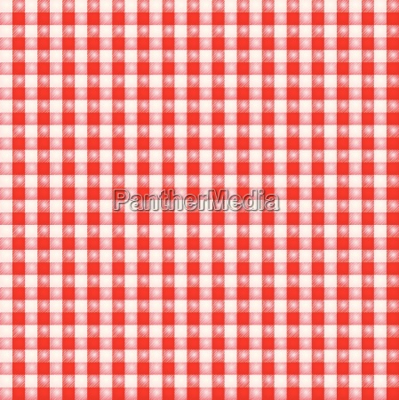 small red and white patterned fabric