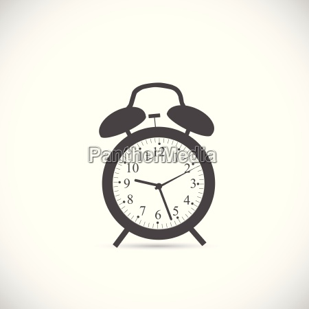 abstract clock illustration