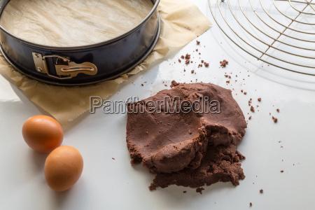 russian zupfkuchen is prepared in a