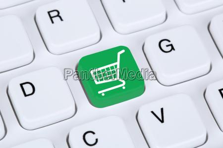 online shopping e commerce shopping on