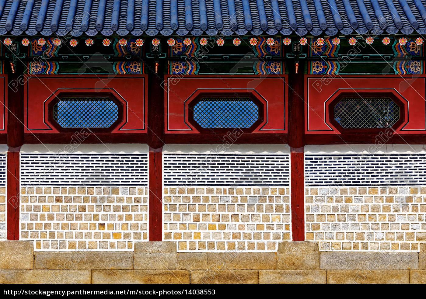 chinese-style, brick, wall - 14038553