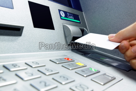 insert, card, into, atm - 14038453