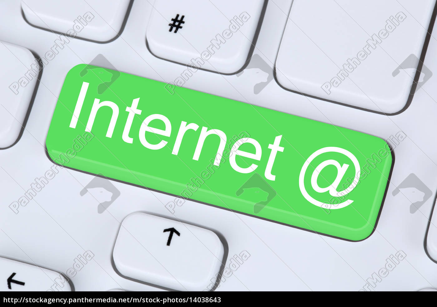 internet, button, on, computer, keyboard - 14038643