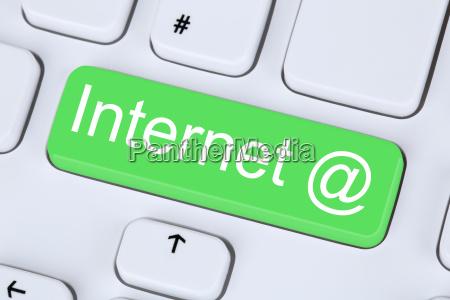 internet, button, on, computer, keyboard - 14038643
