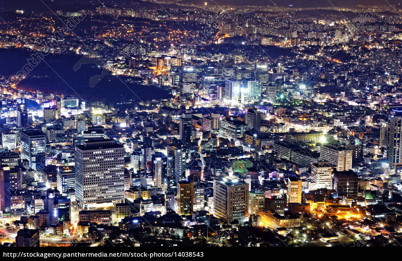 korea, night - 14038543