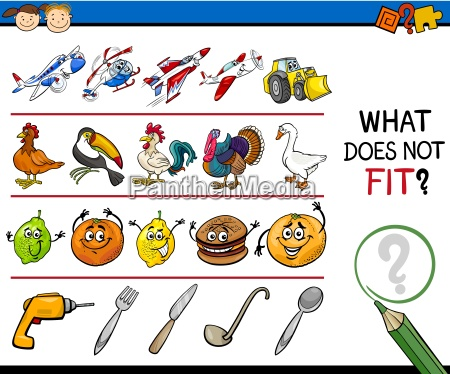 what, does, not, fit, game, cartoon - 14038159