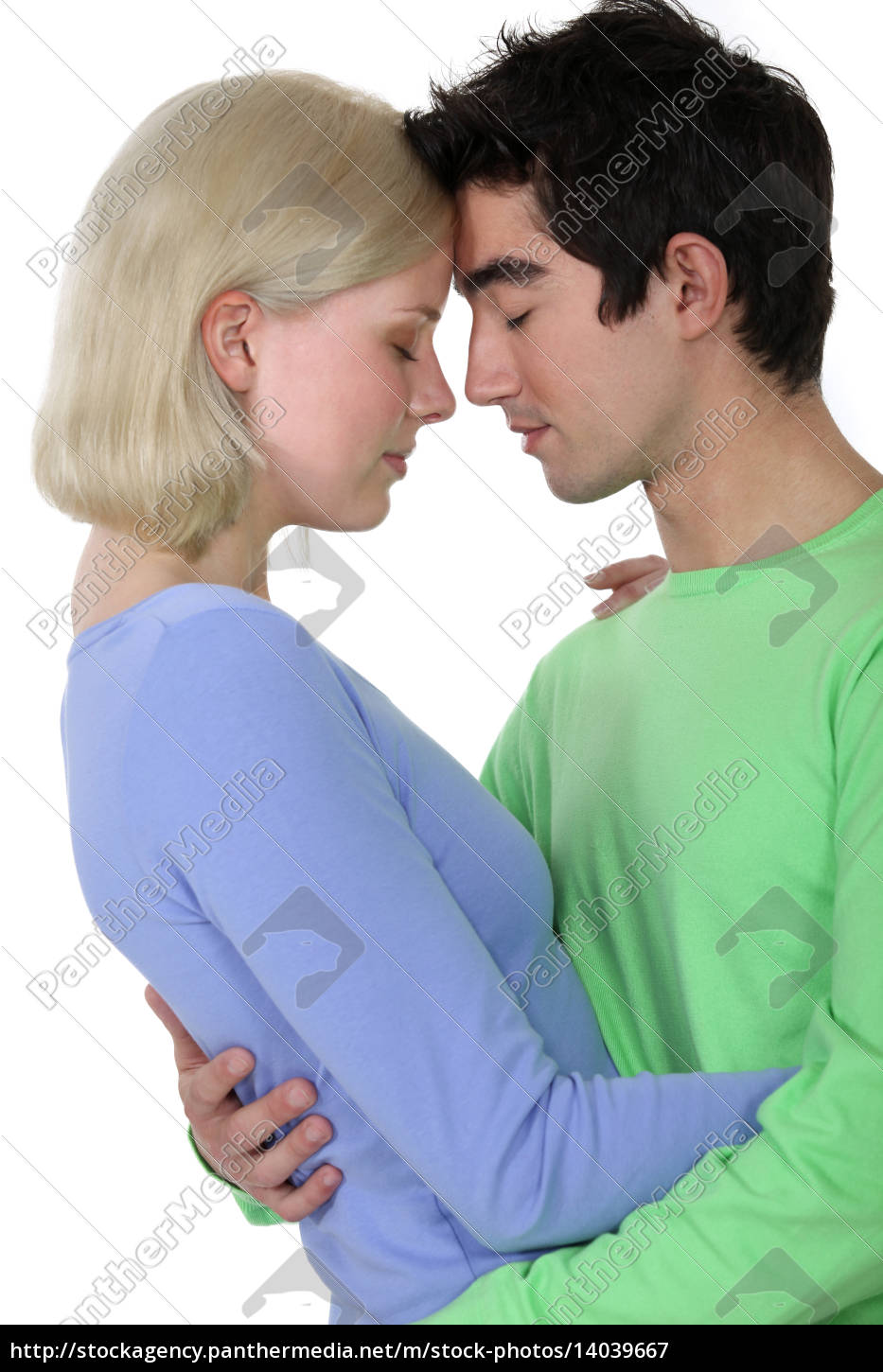 couple, stood, face, to, face - 14039667