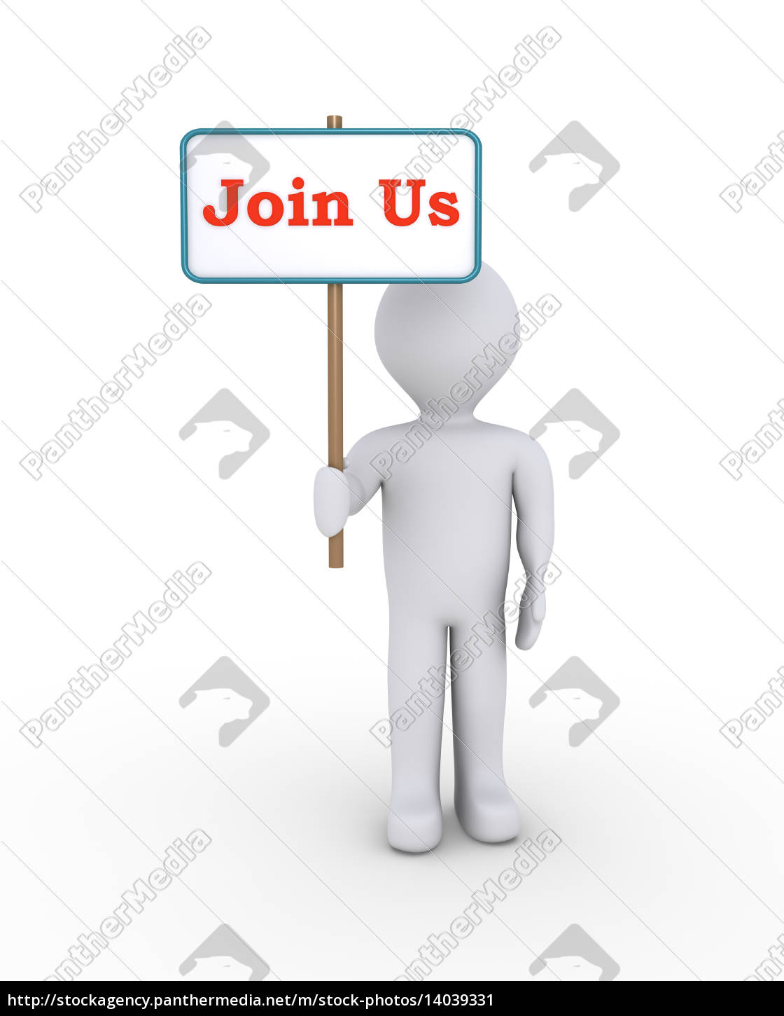 person, with, sign, offering, membership - 14039331