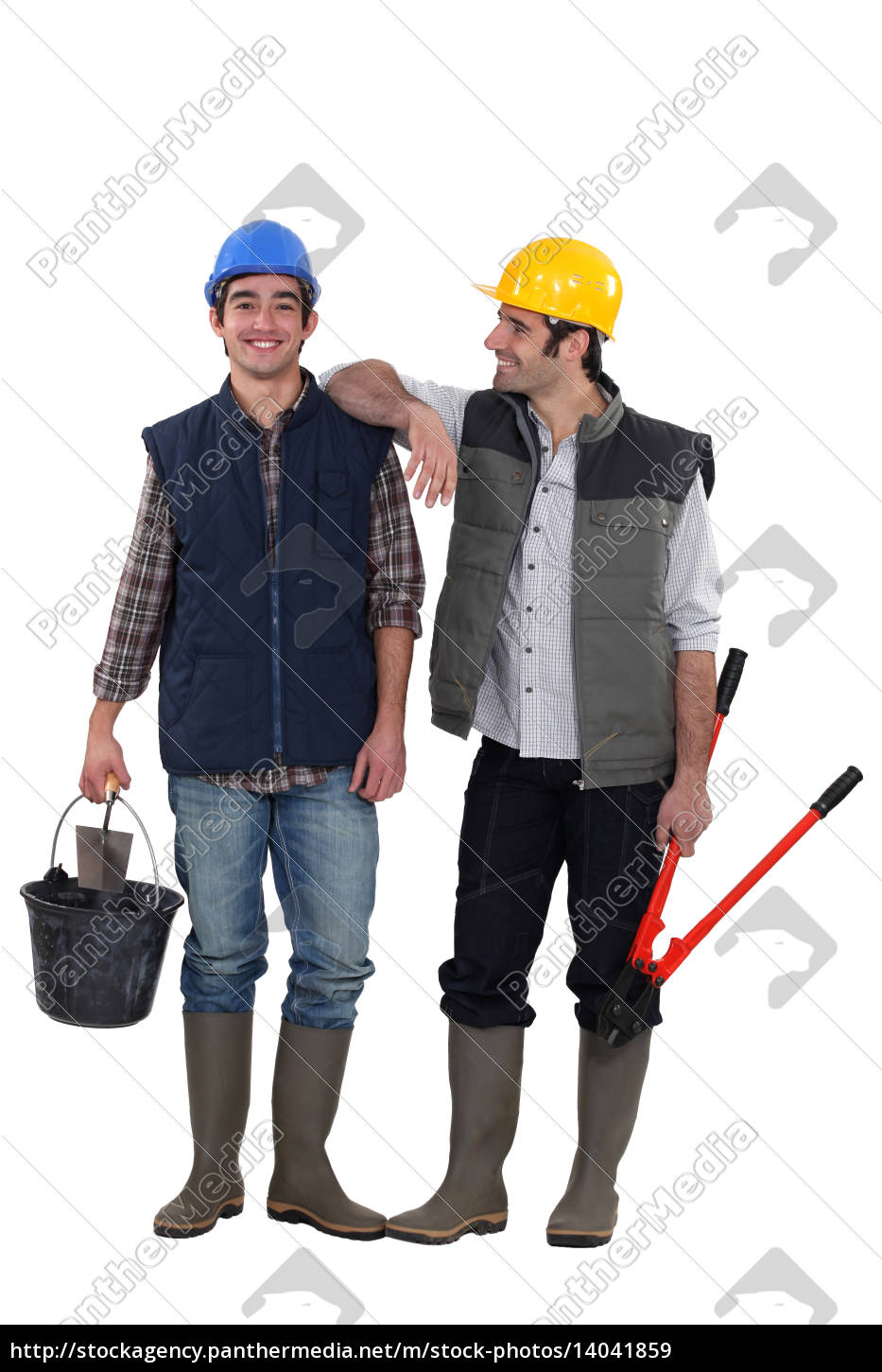 two, friendly, handymen - 14041859